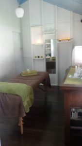 The Natural Touch treatment room 123 Torquay